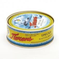 Печень трески ж/б 230 гр