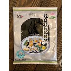 Морская капуста для суши и роллов 25 гр Корея